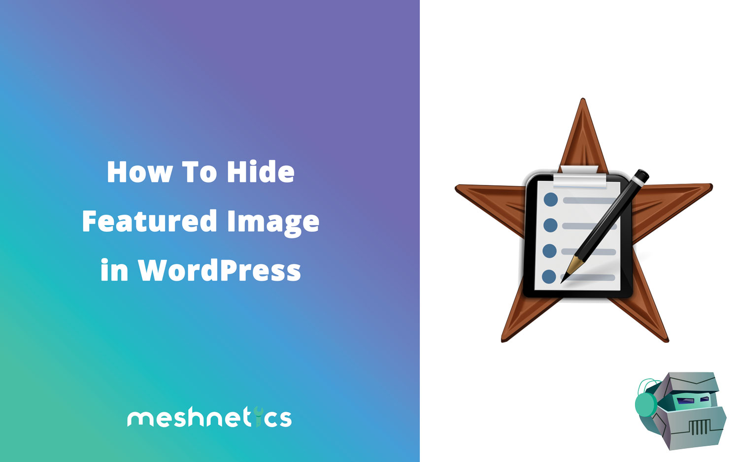 How To Hide Featured Image In Wordpress